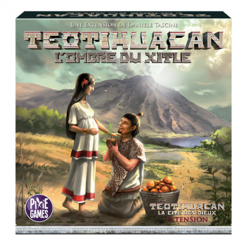 Teotihuacan - L'Ombre du Xitle