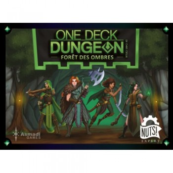 One Deck Dungeon : Forêt...